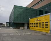 Porta ad impacchettamento rapido Iridium Doors presso l'aeroporto di Bologna
