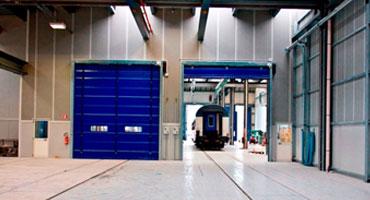 Porte industriali rapide