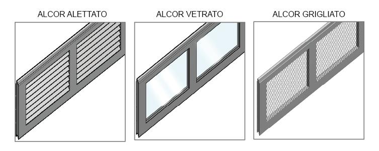 pannelli alcor alluminio
