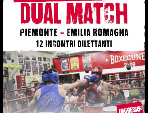 Boxe Dual Match 2017 – un'occasione per stare insieme e sostenere lo sport piemontese