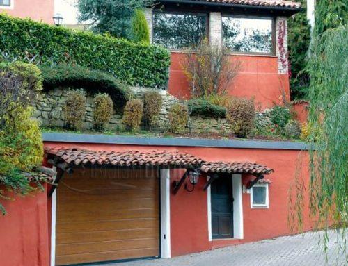 Portoni sezionali IRIDIUM: lo stile del tuo garage