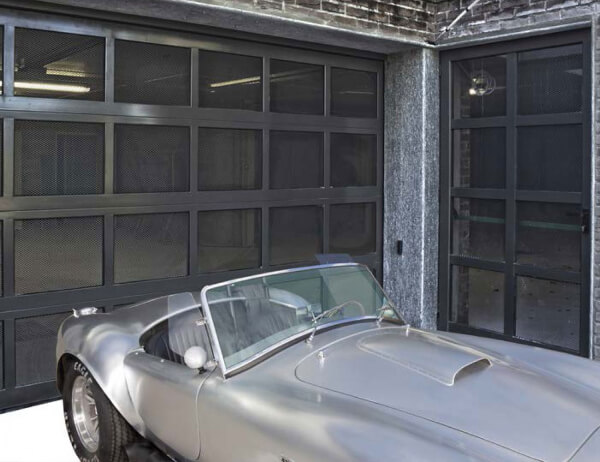 Portone garage Iridium Doors
