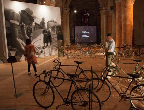"""""""Il Team Iridium Doors alla mostra sulla leggenda dello sport Fausto Coppi a Cuneo."""""""