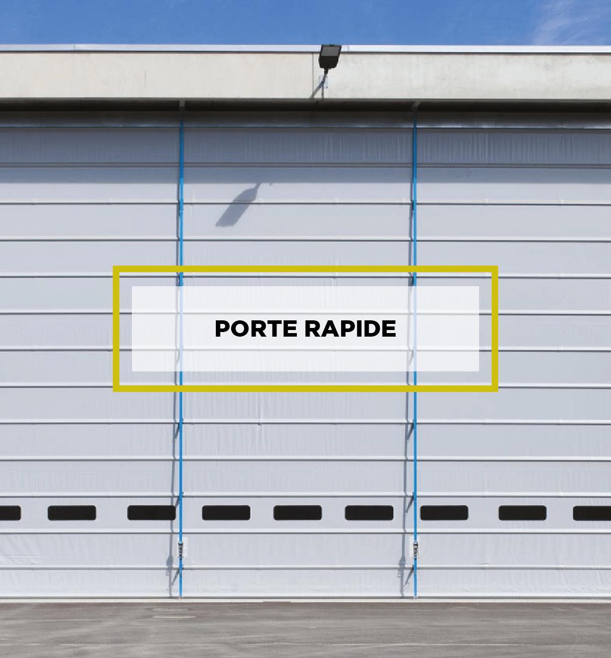 Porte Rapide per l'industria Iridium Doors