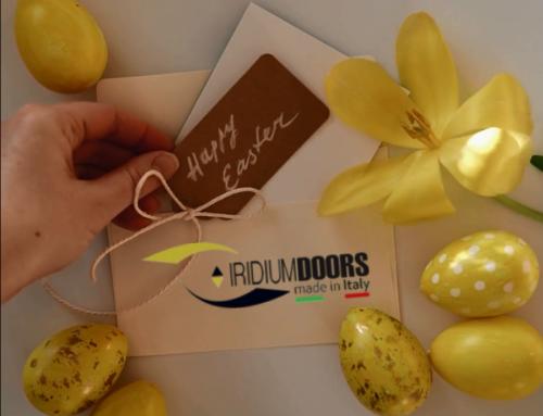 Auguri di Buona Pasqua 2021 | Iridium Doors