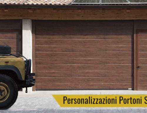 Portoni sezionali per garage personalizzati